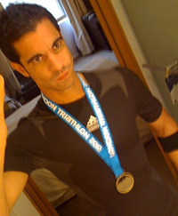 Gerben - Triathlon training